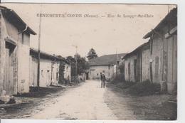 MEUSE -  GENICOURT/ CONDE - Rue De Louppy Chée  ( - Timbreà Date De 1947 - Petite Animation ) - Autres Communes