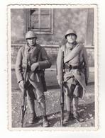 CHALON SUR SAONE  PHOTO   9 X 6   MILITAIRES DU 134 EME REGIMENT D'INFANTERIE  1935  VOIR VERSO - Guerre, Militaire