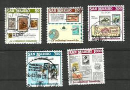 Saint-Marin N°1174 à 1178 Cote 3.50 Euros - San Marino