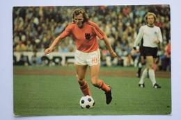 WM FIFA 1974 - WEST GERMANY - NETHERLANDS 2 - 1 - RENÉ VAN DE KERKHOF - Voetbal - Football - Football