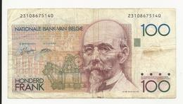 Belgium 100 Francs VF Or Fine+ - [ 2] 1831-... : Koninkrijk België
