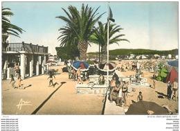Photo Cpsm Cpm 83 TOULON. Les Sablettes. Pour Montpellier 1957 - Toulon