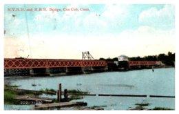 Connecticut Greenwich , N.Y.N.H And H.R.R.  Bridge , Cos Cob - Other