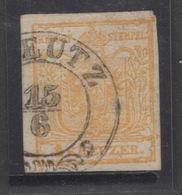1850 1kr Arms Scott #1 Fine Used VFU - 1850-1918 Imperium