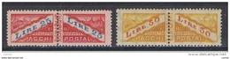 SAN  MARINO:  1946  PACCHI  POSTALI  -  S. CPL. 2  VAL. T.L./N. -  SASS. 31/32 - Colis Postaux