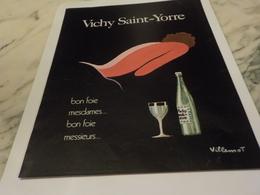 ANCIENNE PUBLICITE   VICHY CELESTIN ETAT 1972 - Affiches