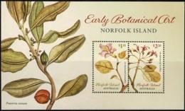 Norfolk Island 2020 Early Botanical Art Minisheet MNH - Isola Norfolk