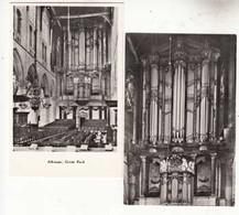 CPA Pays Bas - Noord Holland - Alkmaar - 2 Cartes Grote Kerk    :  Achat Immédiat - (cd025 ) - Alkmaar