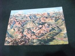 CARTA GEOGRAFICA PLASTICO VALLE DEL CHISONE DEL SANGONE E ALTA VALLE DI SUSA - Carte Geografiche