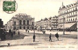 FR34 MONTPELLIER - Nd 1 - La Place De La Comédie - Animée - Belle - Montpellier