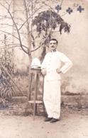 Militaria - SAIGON - Cochinchine - Soldat Prenat La Pose En Uniforme  - 1914 - Characters