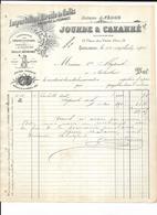 Haute Garonne 31 Toulouse JOURDE & CAZARRE . IMPORTATION DIRECT DE CAFES Sardines D'espagne 1906 - Food