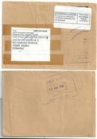 Port Payé - Gonesse TIM - Repostage De Grande Bretagne Pour L'Ethiopie - Retour à L'envoyeur - Posttarife