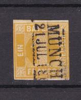 Bayern - 1862 - Michel Nr. 8 - Gest. - 30 Euro - Bayern