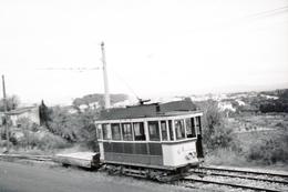 Tramway De Perpignan (66) Motrice N°6 Sur La Route De Canet Plage, Vers 1950. - Tramways