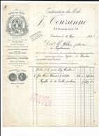 Haute Garonne 31 Toulouse J TOUZANNE Trituration Du Midi 1911 épices à La Charcutiere - Food