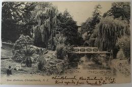 Nuova Zelanda 02 - River Heatcote - Christchurch 1908 - New Zeland - Nuova Zelanda