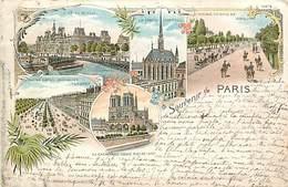 75 SOUVENIR DE PARIS  DE 1897 AVENUE DES CHAMPS ELYSEES  - PRIX DE DEPART 1 €00 - France