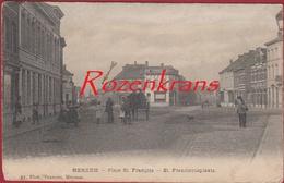 Merksem Merxem Place St. Saint Francois Franciscusplaats Sint-Franciscusplein ZELDZAAM Geanimeerd - Antwerpen