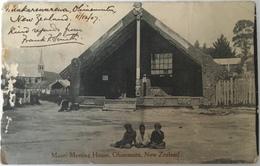 Nuova Zelanda 04 - Maori Meeting House - Ohinemutu 1907 - New Zeland - Nuova Zelanda