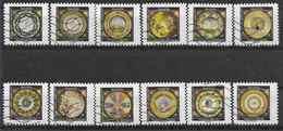 2019 FRANCE Adhesif Oblitérés, Assiettes , Série Complète - Adhesive Stamps