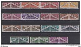 SAN  MARINO:  1945  PACCHI  POSTALI  -  S. CPL. 15  VAL. N./TL. -  SASS. 16/30 - Colis Postaux