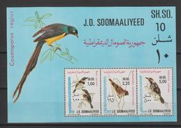 Somalie 1980 Oiseaux BF 9 ** MNH - Somalia (1960-...)