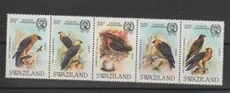 Swaziland 1983 Oiseaux Série 420-24 5 Val ** MNH - Swaziland (1968-...)
