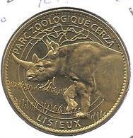 Jeton Touristique AB 14 Lisieux Cerza Rhino 2007 - 2007