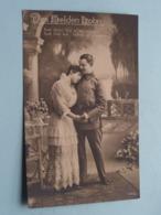 Des Helden Lohn ( NPG 155/4 ) Anno 1918 Feldpost SAYN ( See Photos ) ! - Militari