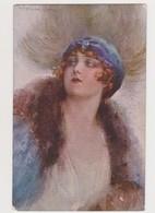 Cpa Fantaisie  T.Corbella  / Jeune Femme , Mode Style Art Nouveau - Corbella, T.