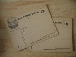 Lot 2 Carte Franchise  Drapeau  Coin Gauche  Franchise Postale Guerre 39.45 - Marcofilie (Brieven)