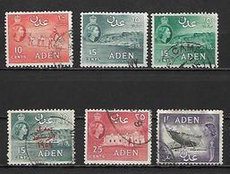 Aden, 1953 - Timbres