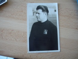 Carte Photo Prisonnier  Stalag 6.g   Photographies Prisonnieres - Guerra 1939-45