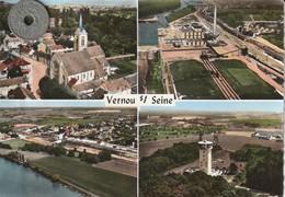 77 - Carte Postale Semi Mi Moderne Dentelée De  VERNOU SUR SEINE  Multi Vues - Other Municipalities