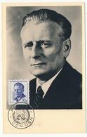 TCHECOSLOVAQUIE - Carte Maximum - Président Novotny - 1960 - Covers & Documents