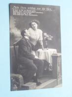 Mein Herz Schlägt Nur Für Dich ( 2997/6 ) Anno 1911 Chemnitz > Herstal ( See Photos ) ! - Militari