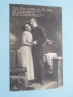 Mein Herz Schlägt Nur Für Dich ( 2997/2 ) Anno 1911 Chemnitz > Herstal ( See Photos ) ! - Militari