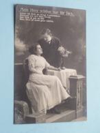 Mein Herz Schlägt Nur Für Dich ( 2997/1 ) Anno 1911 Chemnitz > Herstal ( See Photos ) ! - Militari