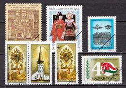 Hungary Specimen 6 Stamps - Unused Stamps