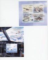 Concorde-Guinée Bissau-2013-Bloc Et Feuillet***MNH-Officiel - Concorde