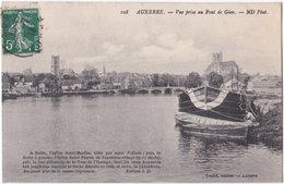 89. AUXERRE. Vue Prise Au Pont De Gien. 108 - Auxerre