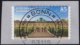 3231 Schloss Sanssouci, Aus Rolle Mit GERADER Nummer, ET-O VS Bonn 4.8.16 - BRD