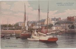 Bv - Cpa LORIENT - Le Pont Tournant Et Le Bassin Du Commerce - Lorient