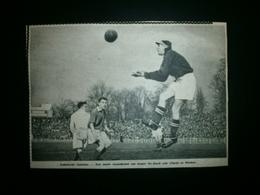 Anderlecht-Gantoise: Voetbal:keeper De Raedt (1949) - Documents Historiques
