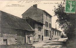 D87  FROMENTAL  La Mairie Et École De Garçons  .............  Carte Peu Courante - Ambazac