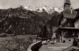 CPSM - INTERLAKEN - GRAND RESTAURANT HARDER KULM ... - LU Lucerne