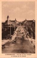 CPA - LUXEMBOURG - Vue Sur Le PONT ADOLPHE (tramway) ... - Lussemburgo - Città
