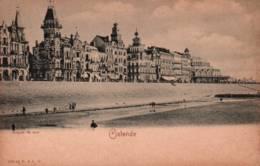 CPA - OSTENDE - Vue De La Plage ... Edition R & J - Oostende
