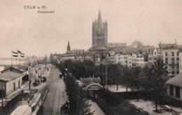 CPA - CÖLN A. Rhein - FRANKENWERFT (tramway) ... - Koeln
